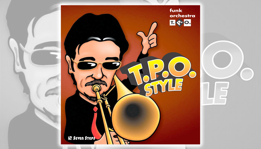 "The 3rd album ""T.P.O. STYLE"""